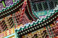 kinesiska byggnader Arkivfoto