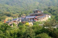 kinesiska byggnader Fotografering för Bildbyråer