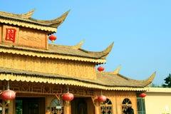 kinesiska byggnader Arkivbilder