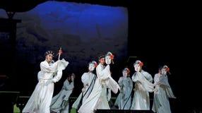 Kinesiska Cantoneseoperaaktörer Royaltyfria Bilder