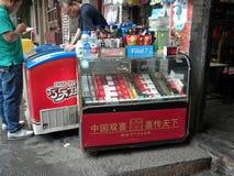 Kinesiska cigaretter Royaltyfri Foto