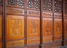 kinesiska dörrar Royaltyfri Fotografi