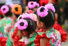 kinesiska dansare Royaltyfria Bilder