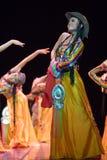 kinesiska dansfolk Arkivbilder