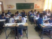 kinesiska deltagare Arkivbilder