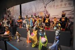 Kinesiska dockor på 21st UNIMA Royaltyfri Fotografi