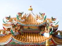 kinesiska drakar Fotografering för Bildbyråer