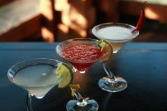 Kinesiska eller orientaliska drinkar Arkivbild