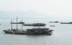 kinesiska fartyg Royaltyfri Fotografi