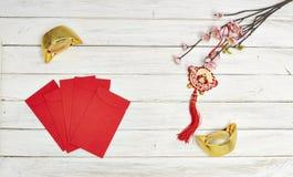 Kinesiska festivalgarneringar för nytt år Royaltyfri Bild