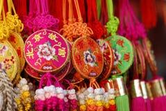 kinesiska fnurror Arkivfoto