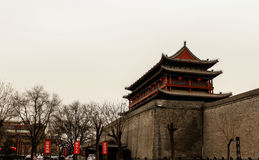 kinesiska forntida byggnader Royaltyfri Bild