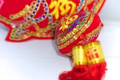 Kinesiska garneringar för nytt år, Arkivbilder
