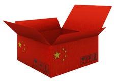 kinesiska godor stock illustrationer