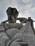 kinesiska gudar Arkivbilder
