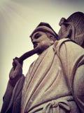 kinesiska gudar Arkivbild