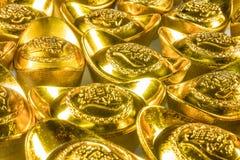 kinesiska guldtackor Arkivfoton