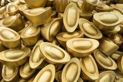 kinesiska guldtackor Arkivbild