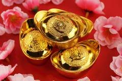 kinesiska guldtackor Royaltyfri Foto