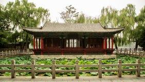 kinesiska hus Arkivfoto