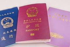 Kinesiska ID Arkivbild