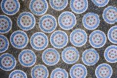Kinesiska keramiska tegelplattor Fotografering för Bildbyråer
