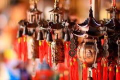 kinesiska klockor Fotografering för Bildbyråer