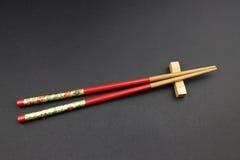 kinesiska kotlettsticks Arkivfoton