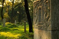 kinesiska kyrkogårdforskare Arkivbild