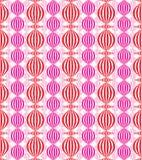 kinesiska lampor mönsan seamless stock illustrationer