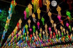 Kinesiska lanters i Thailand Arkivbilder
