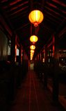 kinesiska lyktagator Royaltyfri Fotografi