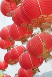 kinesiska lyktor Arkivfoton