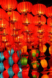 kinesiska lyktor Royaltyfri Foto