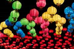 kinesiska lyktor Royaltyfri Fotografi