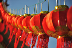 kinesiska lyktor Arkivbilder
