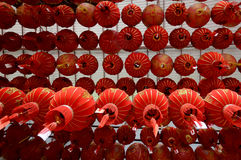 Kinesiska lyktor, asia Royaltyfri Bild