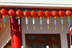 Kinesiska lyktor i kinesisk dag för nya år Royaltyfri Foto