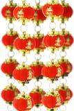 kinesiska lyktor paper red Royaltyfri Fotografi