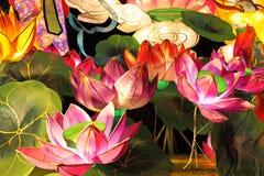 kinesiska lyktor paper traditionellt Royaltyfri Foto