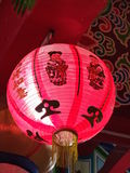 Kinesiska lyktor under arkivbild