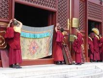 Kinesiska munkar 2 royaltyfri foto
