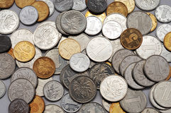 kinesiska mynt Arkivfoto