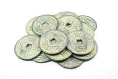 kinesiska mynt Royaltyfri Bild