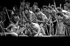 Kinesiska nationella dansare Royaltyfri Fotografi