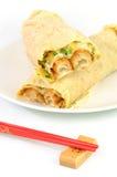 kinesiska pannkakor Arkivbild