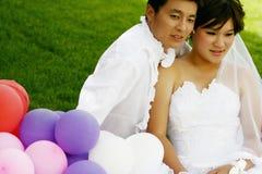 kinesiska par Fotografering för Bildbyråer