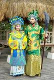 kinesiska par royaltyfria foton