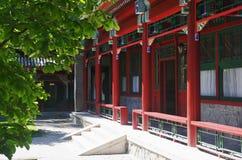Kinesiska paviljonger Arkivbilder