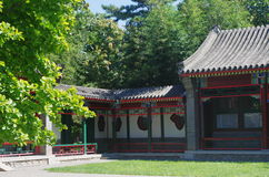 Kinesiska paviljonger Royaltyfri Foto